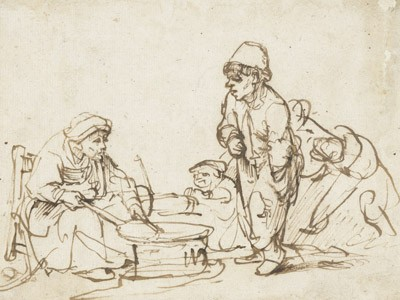 Exposition : Rembrandt intime (1606-1609)